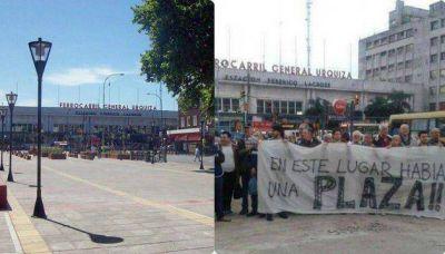 El Gobierno porteño remodeló una plaza para luego demolerla