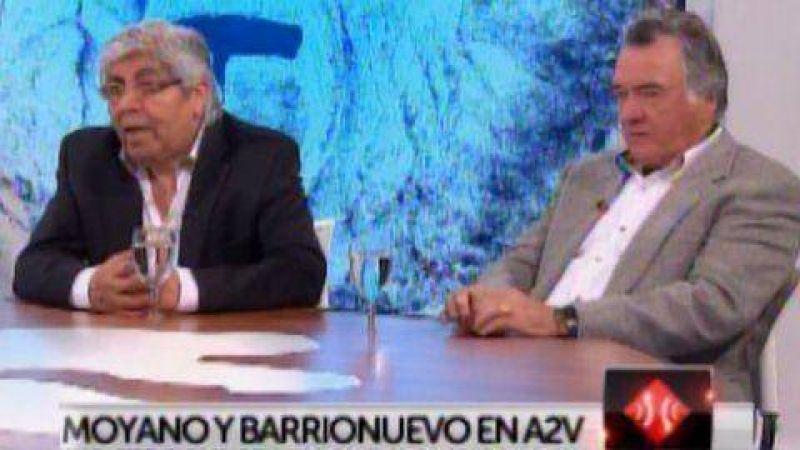 Moyano y Barrionuevo, tras el anuncio sobre las asignaciones: