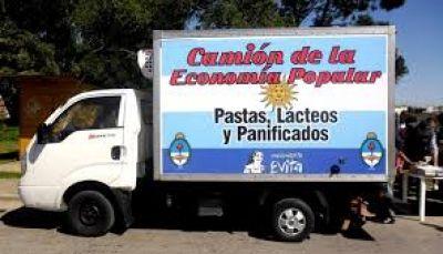 """Llega el camión de """"Lácteos y Pastas para todos"""""""