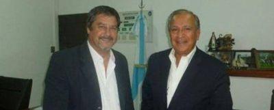 Romero tuvo un encuentro con el intendente de La Caldera