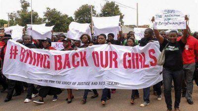 Buscan con drones a las jóvenes nigerianas secuestradas