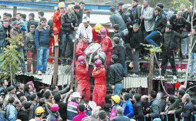 Fuertes cr�ticas al gobierno turco por la muerte de mineros