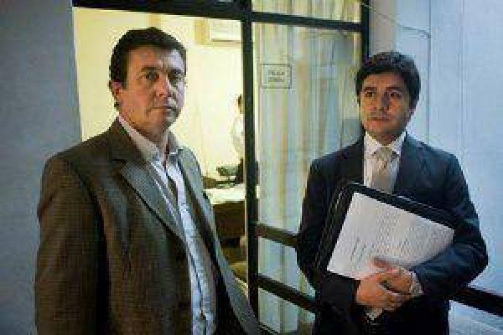 Millán presentó denuncia penal por el tendido en El Portezuelo