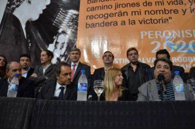 Peronismo 2020 homenajeó a Evita en la UNSAM al cumplirse 95 años de su natalicio