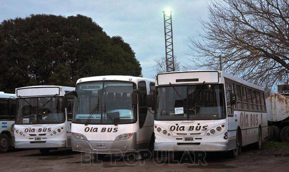 Olavarría Bus resolvió la situación salarial y no habrá paro
