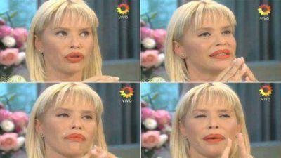 Nazarena Vélez se mostró quebrada en el ciclo de Mirtha Legrand