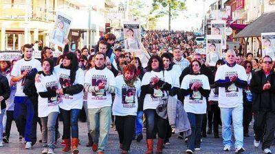 Marcha en Villa Gesell por un crimen brutal