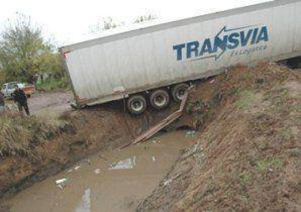 Piden carteles para que los camiones no tomen el desvío de ...
