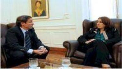 Fein se reunió con el representante territorial del Ministerio de Seguridad