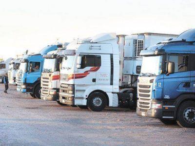 Cae la actividad del transporte de cargas