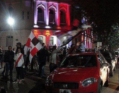 La fiesta millonaria se trasladó al centro de la Ciudad