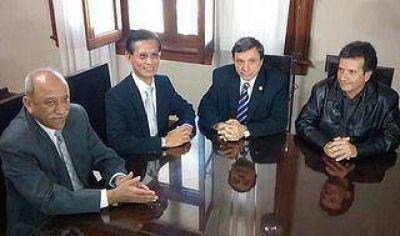 Inter�s del embajador de Taiwan sobre el potencial agroexportador de Jujuy