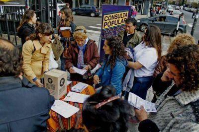 """Más de 25 mil vecinos votaron """"por los que menos tienen"""""""