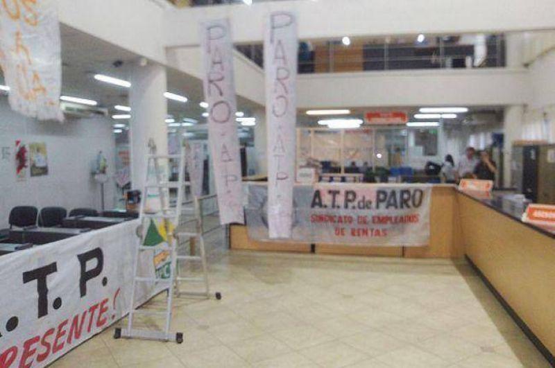 Administración Tributaria Provincial: Paro total por 48 horas y repudio al titular