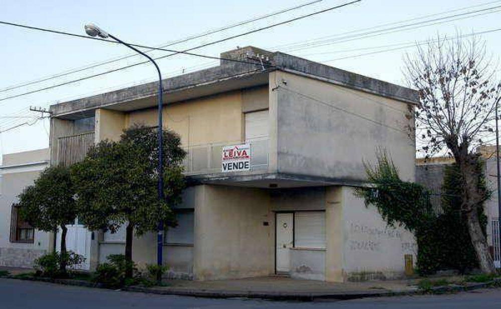 Sombrío panorama del mercado inmobiliario local