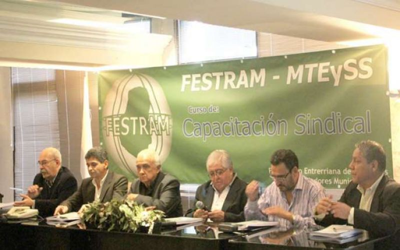 La provincia continúa fortaleciendo a las asociaciones sindicales