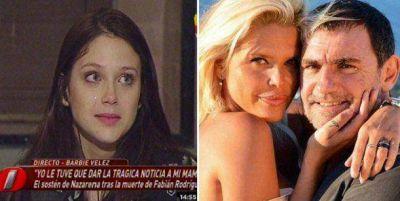 Barbie Vélez detalló cómo fue el suicidio del marido de su mamá, Fabián Rodríguez