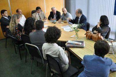 Diputados justicialistas escucharon planteos de magistrados y funcionarios de la Justicia de Paz