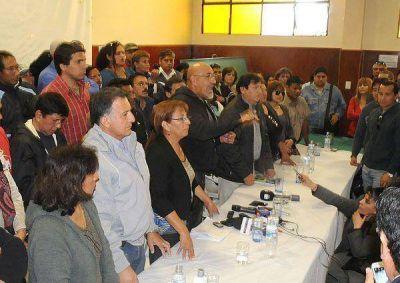 Estatales: presentaron el renovado Frente de Gremios