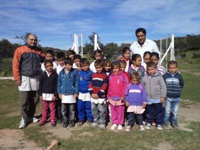 Una cruzada solidaria para ayudar a ni�os de San Mart�n