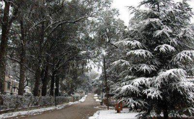Hoy llegaría la primera nevada a las sierras