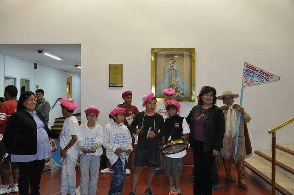 Presentaron en la Legislatura libro sobre la Fiesta de la Virgen del Abra de Punta Corral