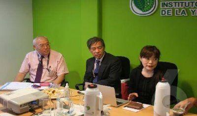 Interés de japoneses por las propiedades de la yerba mate