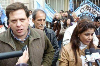 Judiciales nacionales realizaron protesta en calles de Corrientes