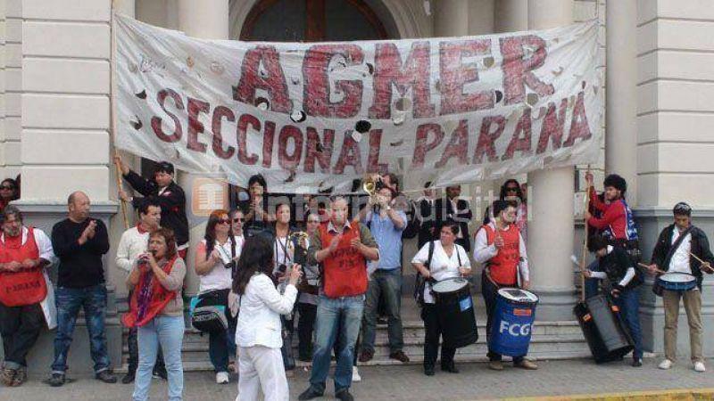 Agmer Paraná se movilizará a Casa de Gobierno este viernes