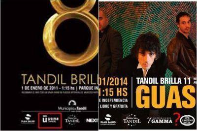 Tandil Brilla 2014: �El Ejecutivo puede justificar 40 mil de 146 mil pesos que cost� el evento�