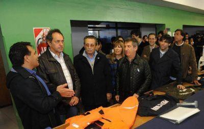 """Congreso del PJ: Scioli pidió """"espíritu de unidad para que crezcan la Provincia y el país"""""""