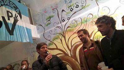 Abal Medina particip� de la inauguraci�n del Centro Cultural Descamisados en San Telmo