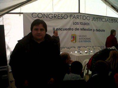 Presencia marplatense en Congreso del PJ