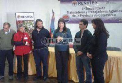Encuentro regional de trabajadores agrarios