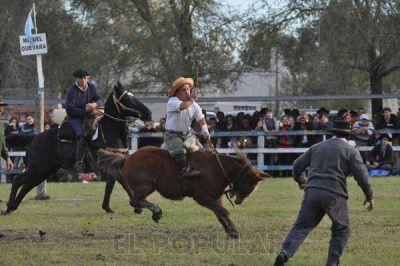 Con actividades criollas cerr� La Naci�n Ganadera