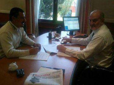 Reunión en Economía por Presupuesto 2014