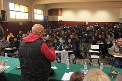 El Frente Estatal se declaró en estado de alerta y movilización