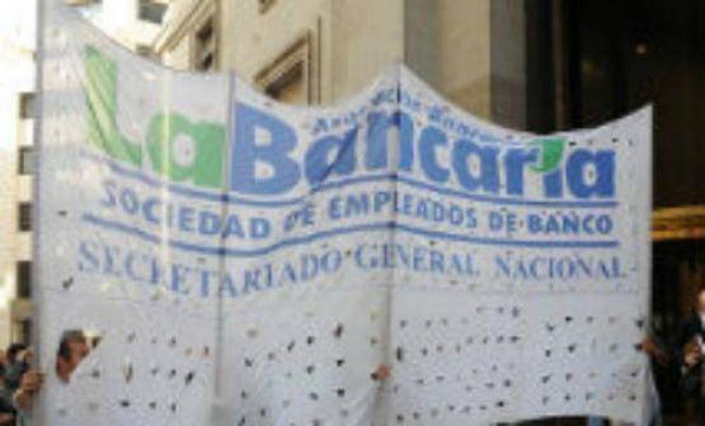 Nuevo paro de la Bancaria para este jueves