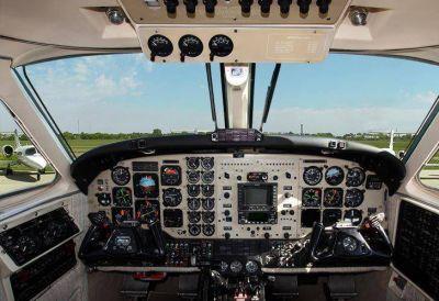 Cómo es la lujosa avioneta que cayó al Río de la Plata