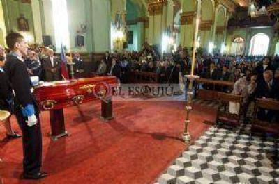 El pueblo de Catamarca despidió los restos de Mons. Elmer Miani