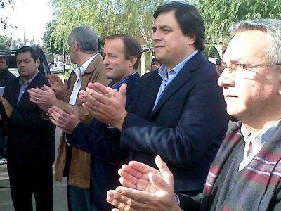 Manino Iriart junto a Insaurralde visitaron Madariaga
