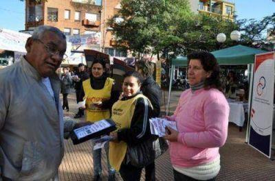 Comenzaron las actividades por el Día Mundial Sin Tabaco en Posadas