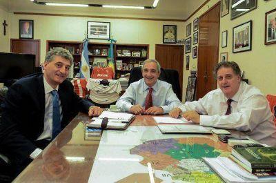 Barrera se reunió con el Ministro de Salud de la Provincia.