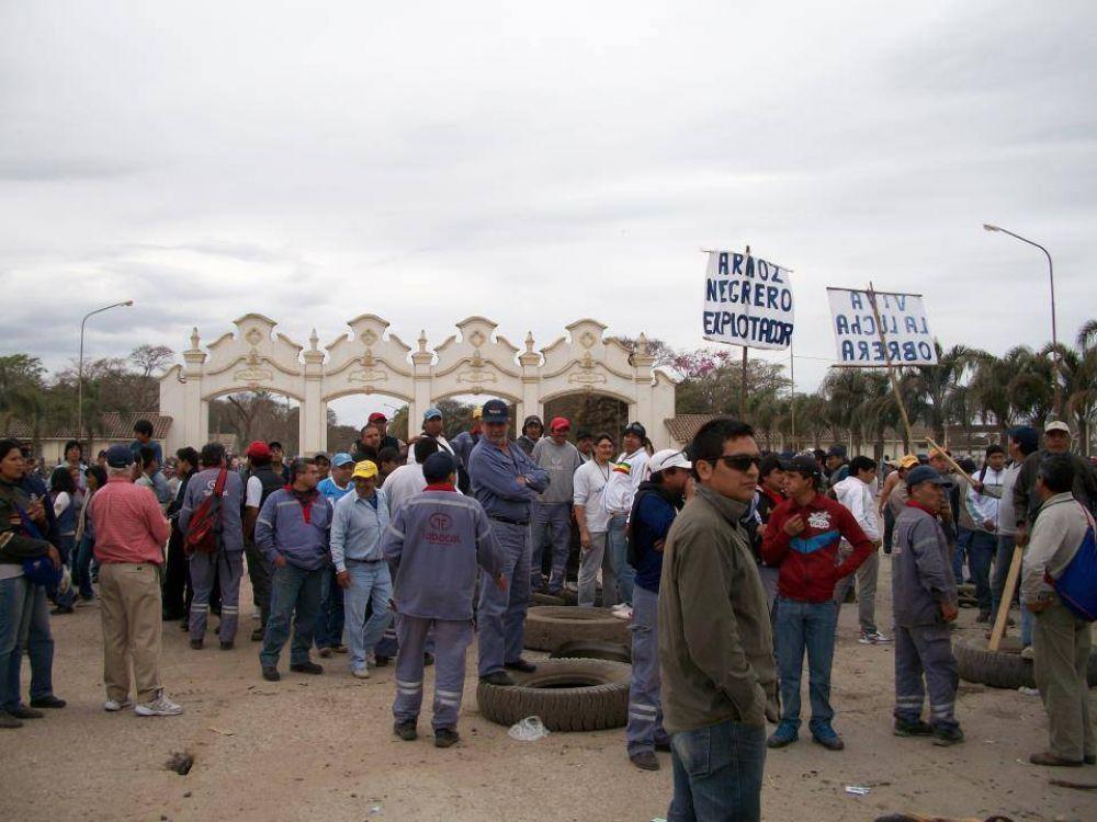 ESTE LUNES HABRÁ PARO EN EL INGENIO EL TABACAL
