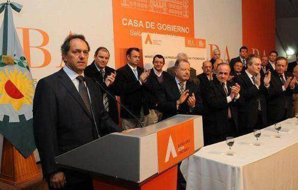 Scioli: más que nunca vamos a estar al lado de los que hacen progresar al país