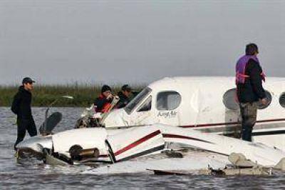 En Uruguay buscan la caja negra de la avioneta