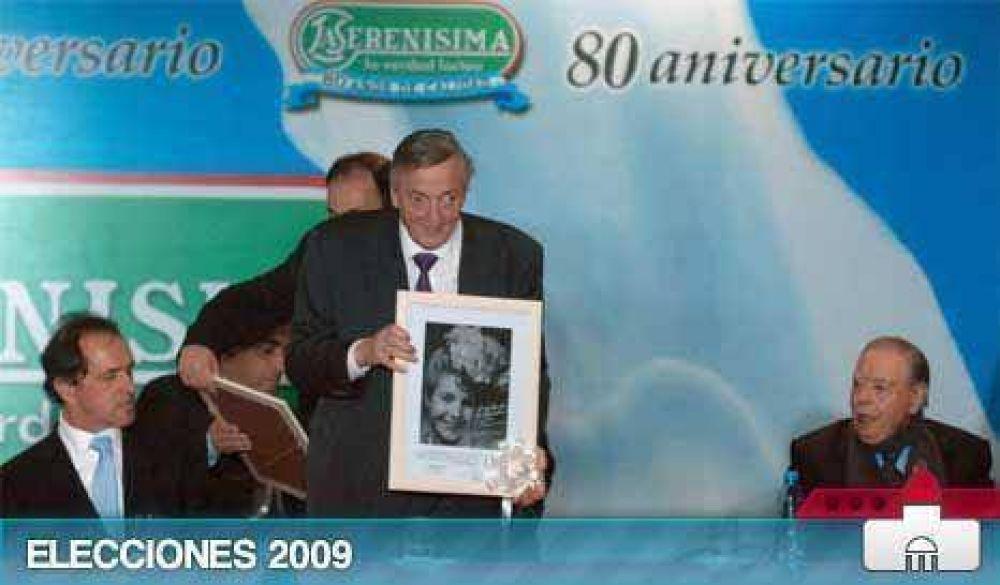 Serenísimo, Néstor llevó promesas a La Serenísima y complicó a Cristina