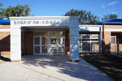 Insfrán inaugura modernas obras edilicias para nueve establecimientos educativos de zonas rurales