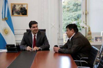 Ávila le presentó a Capitanich el proyecto de la Clínica del sindicato petrolero