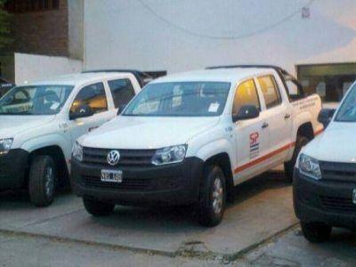 Nueva flota vehicular para SPSE Caleta Olivia